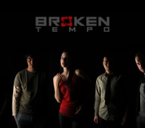 Broken Tempo Band promotional shooting and new logo